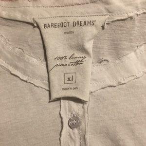 BAREFOOT DREAMS GRAY 1X pajamas prima cotton